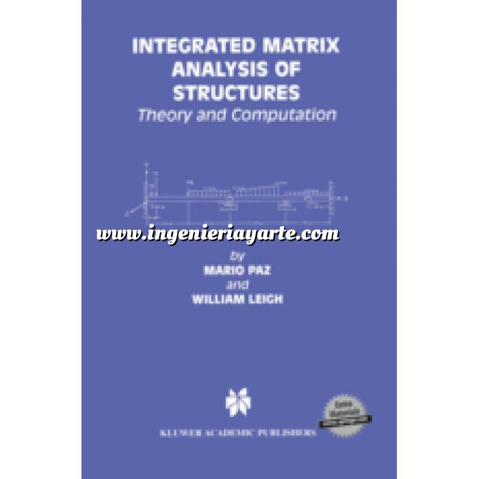 Imagen Teoría de estructuras Integrated Matrix Analysis of Structures.Theory and Computation